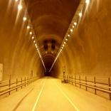 چراغهای تونلهای کارون چهار برای آمدن زمستان روشن شد