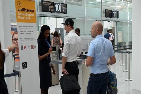 Lufthansa trials 'SmartDepart' gates in Munich