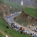 جاده اردبیل - آستارا پرتردد ترین راه ارتباطی استان در تعطیلات نوروزی است