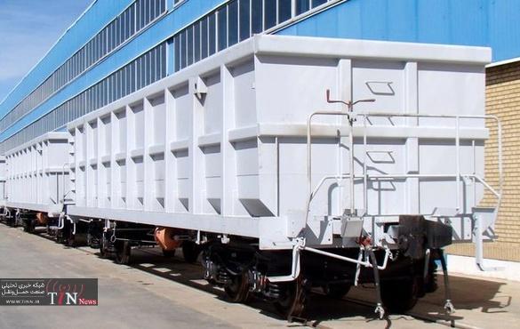 تولید ۶۰۰ واگن باری و ۴۴ واگن مسافری در واگنپارس اراک