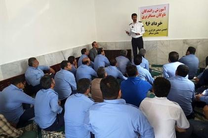 طرح آموزش رانندگان ناوگان مسافربری در گلستان