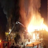 جزئیات آتش سوزی در میدان حسن آباد