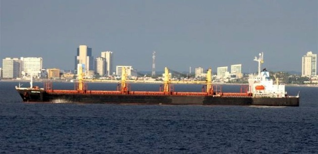 Chinese container ship collides with bulker near Zhenjiang