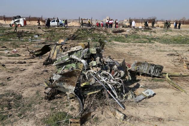 هواپیمای اوکراینی بر اثر برخورد با زمین منفجر شده است