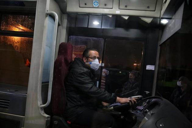 استفاده 98 درصد از مسافران اتوبوس از ماسک
