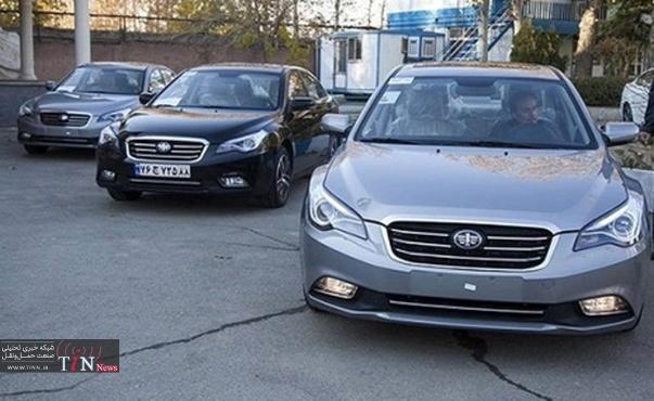 اعلام ستارههای کیفی خودروهای داخلی