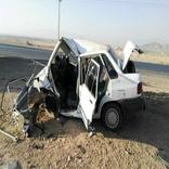 مصدوم شدن ۴ نفر در یک سانحه رانندگی