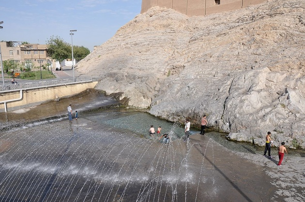 میزان آب چشمهعلی در بالاترین حد چهار ماه گذشته قرار دارد