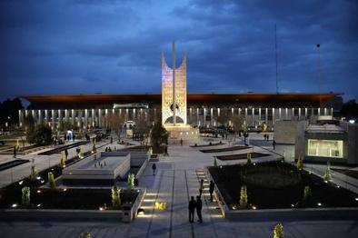 شاهکار معماری که 64 سال پیش در راهآهن مشهد ساخته شد