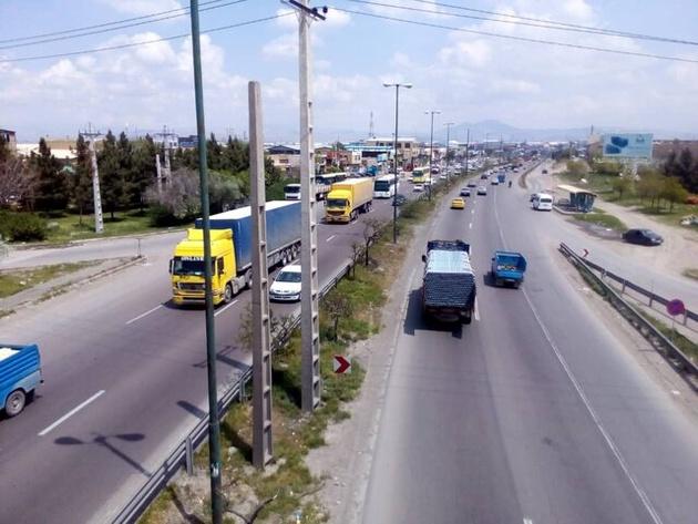 تردد ۶ میلیون وسیله نقلیه در محورهای ارتباطی آذربایجان غربی