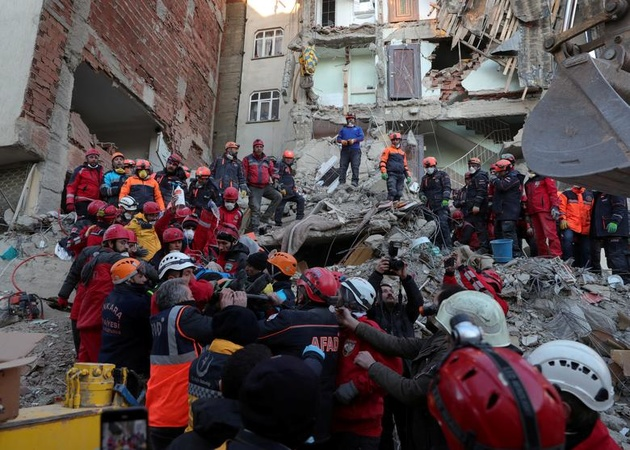 بیش از ۴۰ کشته در زلزله اخیر ترکیه