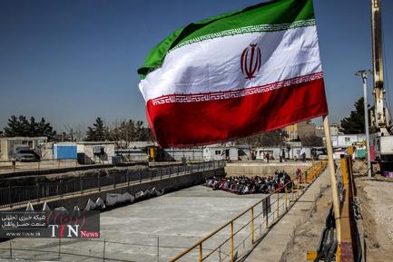 ورود دستگاه TBM حفاری خط ۳ قطار شهری مشهد به پایانه امام رضا (ع)