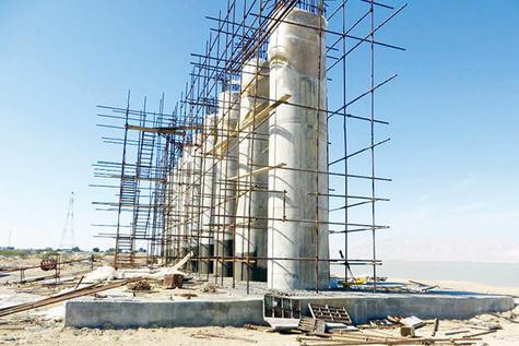 پایهریزی پل «خلیجفارس» بر حملونقل ترکیبی