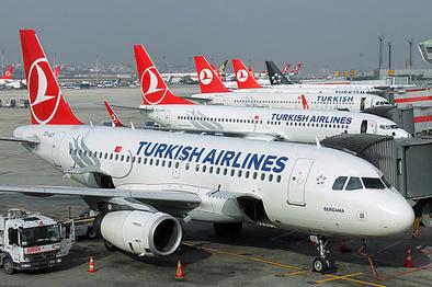 تعلیق پروازهای ترکیه به عراق