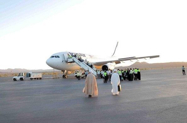 آغاز عملیات پروازهای بازگشت حجاج، از فرودگاه ساری