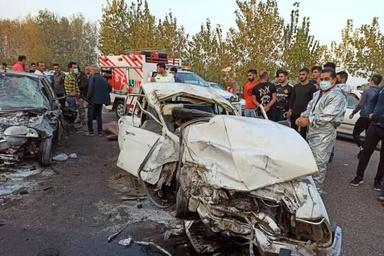 ۳  کشته و ۷ نفر در محور بیجار-سنندج