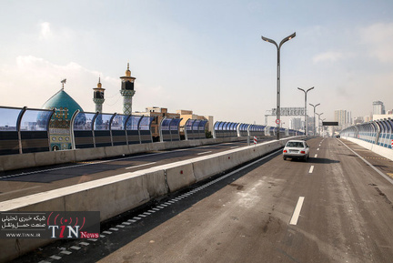 افتتاح پل طبقاتی صدر(1392)