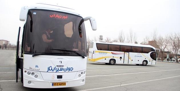 فعالیت 8 هزار اتوبوس در همدان همزمان با اربعین