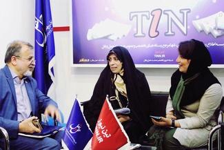 تصاویر/ تیننیوز در ششمین روز نمایشگاه مطبوعات