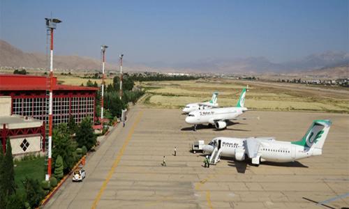 شروع تست تشخیص بیماری کووید ۱۹ در فرودگاه شهدای خرمآباد