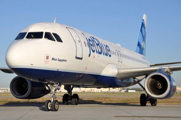 JetBlue Airbus A321 Rejects Take-off due to Engine Fire