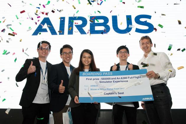 Airbus organises start-up event in Singapore