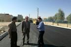اتمام عملیات اجرایی آسفالت راه روستایی قره بلاغ در بخش مرکزی سرپلذهاب