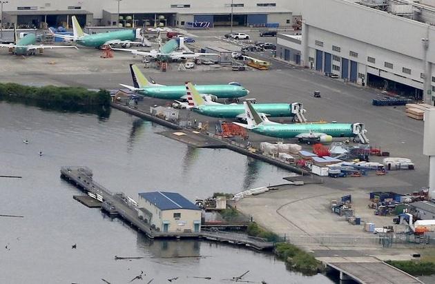 زمینگیر شدن 40 فروند بوئینگ 737 در فرودگاه «رنتون»