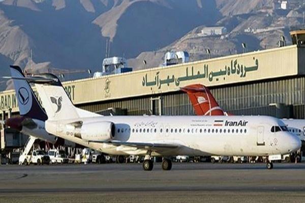بهسازی محاوط مقابل ترمینال 6 فرودگاه مهرآباد آغاز شد