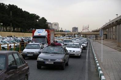 محور شیراز - مرودشت پرترددترین جاده نوروزی فارس