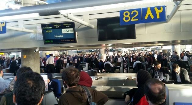 عوارض خروج از کشور،  220 تا 440 هزار تومان شد