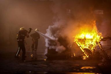 مانور بزرگ عملیات اطفاء حریق و امداد و نجات در بندر بوشهر