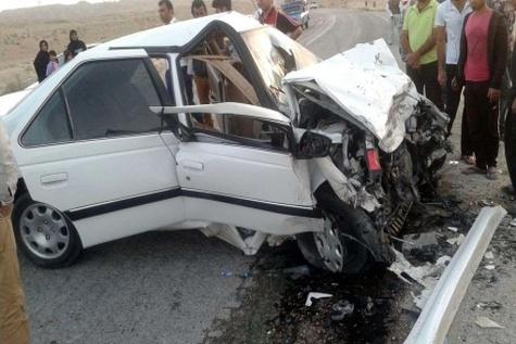 سانحه رانندگی در جاده یاسوج - اصفهان دو کشته برجا گذاشت
