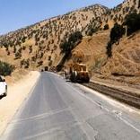 نقطه حادثه خیز مسیر قلعه پسیجان شازند اصلاح شد