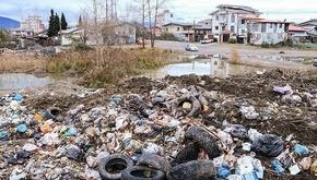 کلاچای گیلان در محاصره زباله