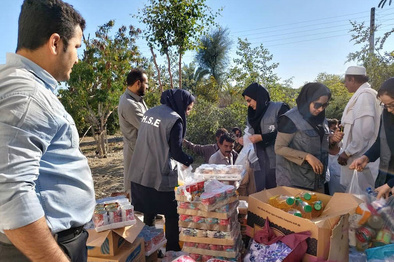 تصاویر  ارسال نهمین محموله کمکهای انساندوستانه چابهار به مناطق سیلزده