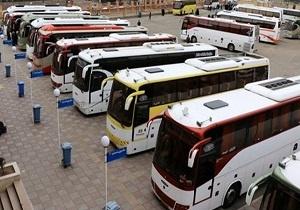 اعزام روزانه ۵۰ دستگاه اتوبوس از قم به پایانههای مرزی