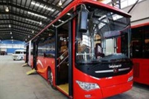 ورود ۳۳ دستگاه اتوبوس دو کابین جدید به ناوگان حملونقل درون شهری تبریز