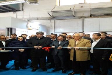 افتتاح نهمین نمایشگاه بینالمللی قیر، آسفالت، عایقها و ماشینآلات وابسته