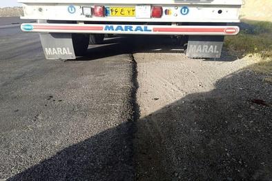 روش جدید سرقت از کامیونها؛ رانندگان مراقب باشند