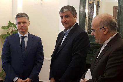 تصاویر  ملاقات وزیر راه و شهرسازی با وزیر امور خارجه اوکراین