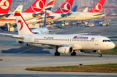 معطلی پنج ساعته مسافران پرواز آبادان به تهران شرکت هواپیمایی آتا