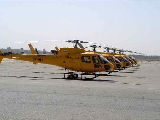 صرفه اقتصادی 8.8 میلیارد تومانی با تعمیر اساسی 6 موتور هلیکوپتر در داخل