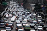 ترافیک صبحگاهی در آزادراه کرج/جو آرام در محورهای ارتباطی