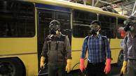 ضد عفونی ناوگان حمل و نقل عمومی کرج آغاز شد