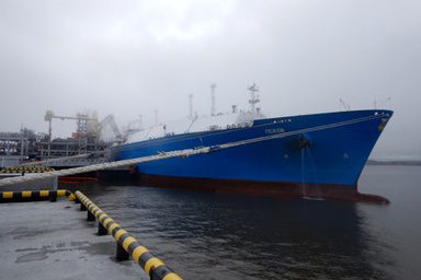 SCF Tanker Loads First LNG Cargo from Yamal LNG's Second Train