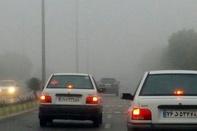 مه ناپایدار جاده های زنجان را فرا گرفته است