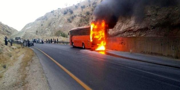 تأیید قاچاق سوخت با مخزن اضافه در برخی اتوبوسها