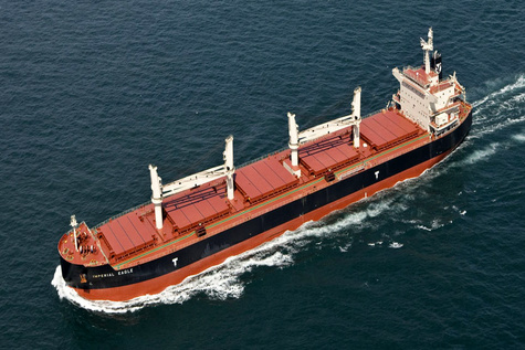 Eagle Bulk Takes Delivery of M/V Stonington Eagle