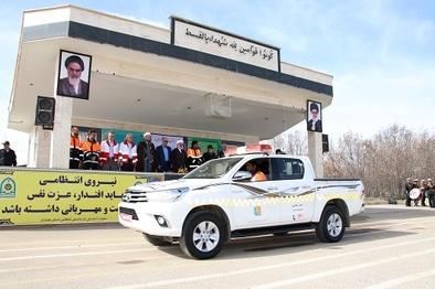 رزمایش افتتاحیه طرح سفرهای نوروزی در همدان